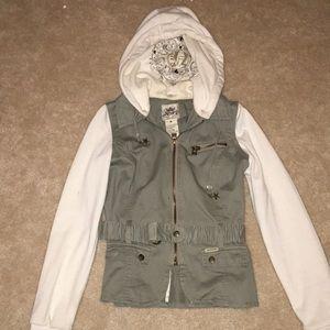Super cute two tone jacket
